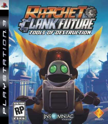 Bestselling Games (2007) - Ratchet & Clank Future: Tools of Destruction