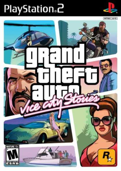 Bestselling Games (2007) - Grand Theft Auto: Vice City Stories