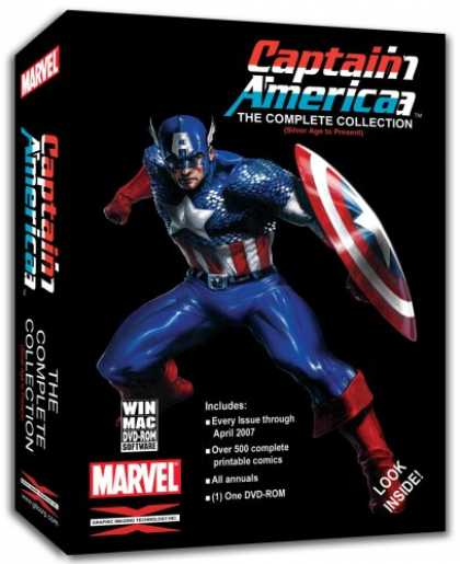 Bestselling Games (2007) - Captain America the Complete Comic Collection Win/Mac