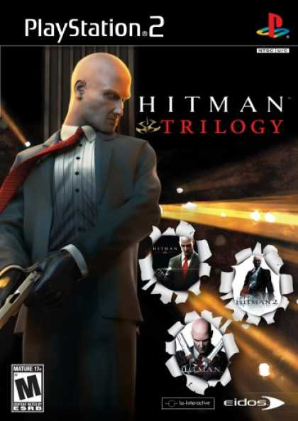 Bestselling Games (2007) - Hitman Trilogy (Includes Blood Money, Silent Assassins, and Contracts)