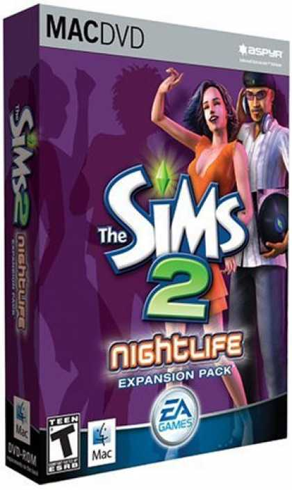 Bestselling Games (2007) - Sims 2 Nightlife Expansion Pack