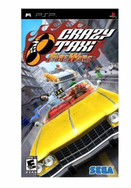 Bestselling Games (2007) - Crazy Taxi: Fare Wars