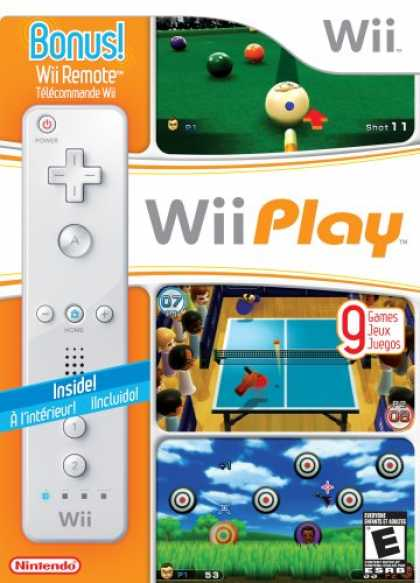 Bestselling Games (2007) - Wii Play with Wii Remote
