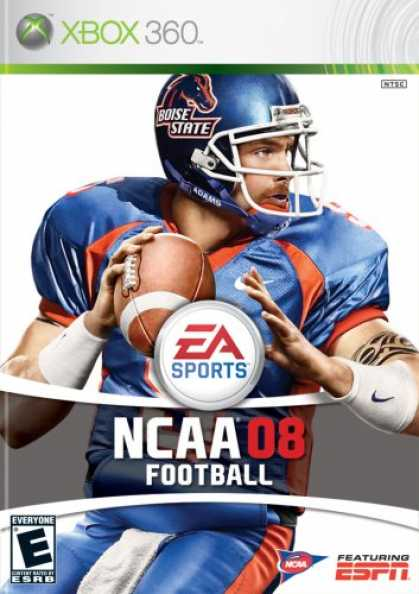 Bestselling Games (2007) - NCAA Football 08