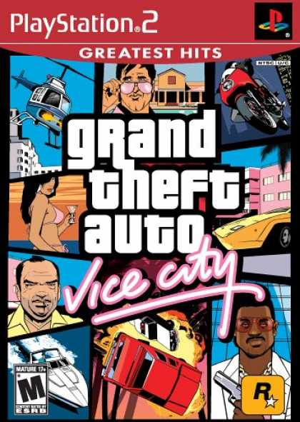 Bestselling Games (2007) - GTA Vice City