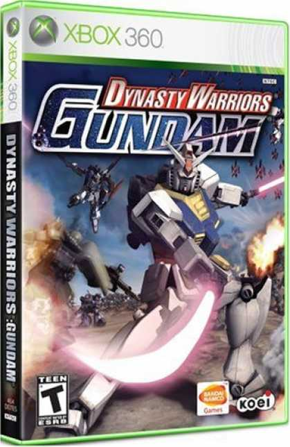 Bestselling Games (2007) - Dynasty Warriors: Gundam
