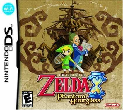 Bestselling Games (2007) - The Legend of Zelda: Phantom Hourglass