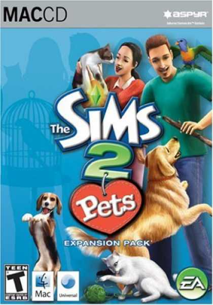 Bestselling Games (2007) - Sims 2 Pets Expansion Pack