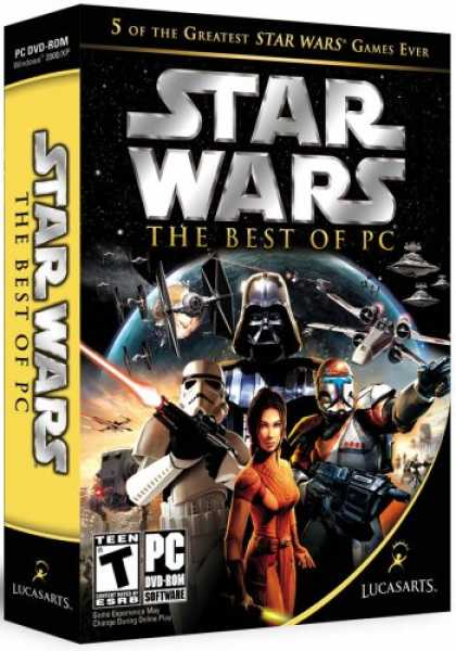 Bestselling Games (2007) - Star Wars: The Best of PC (Empire at War, Knights of the Old Republic, Star Wars