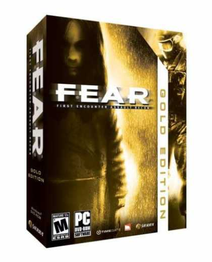Bestselling Games (2007) - FEAR Gold