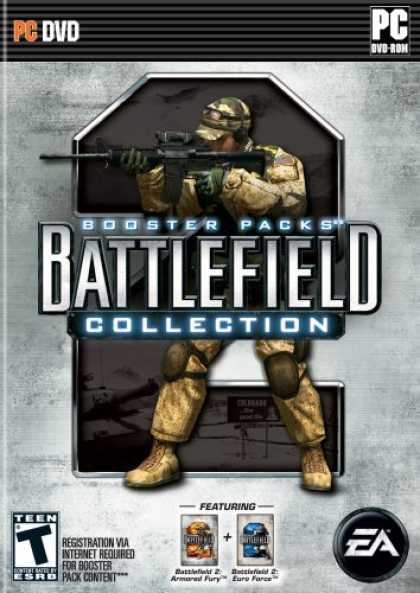 Bestselling Games (2007) - Battlefield 2 Booster Pack Collection (Euro Force & Armored Fury)