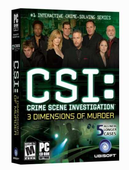 Bestselling Games (2007) - CSI: 3 Dimensions of Murder