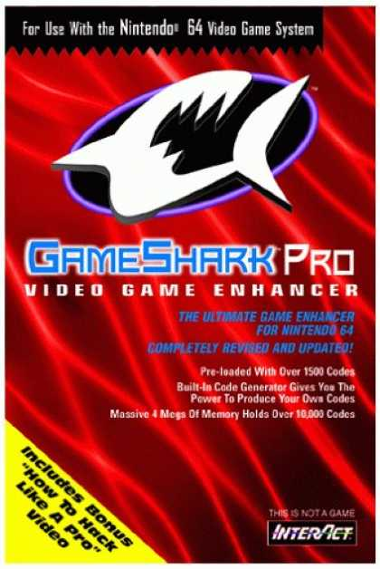 Bestselling Games (2007) - Nintendo 64 - Game Shark Pro