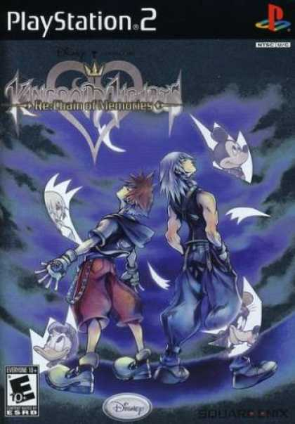 Bestselling Games (2008) - Kingdom Hearts Re:Chain of Memories