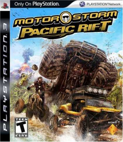 Bestselling Games (2008) - MotorStorm Pacific Rift