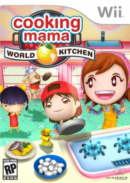 Bestselling Games (2008) - Cooking Mama World Kitchen