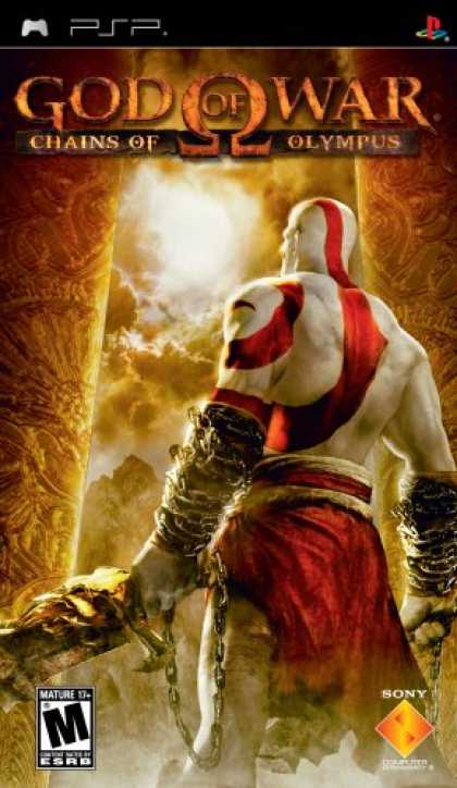 Bestselling Games (2008) - God of War Chains of Olympus