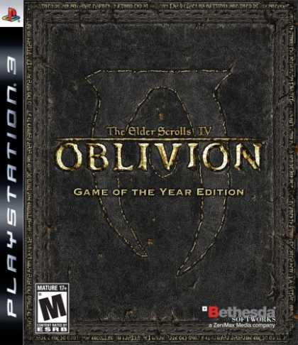 Bestselling Games (2008) - Elder Scrolls IV: Oblivion: Game of the Year Edition