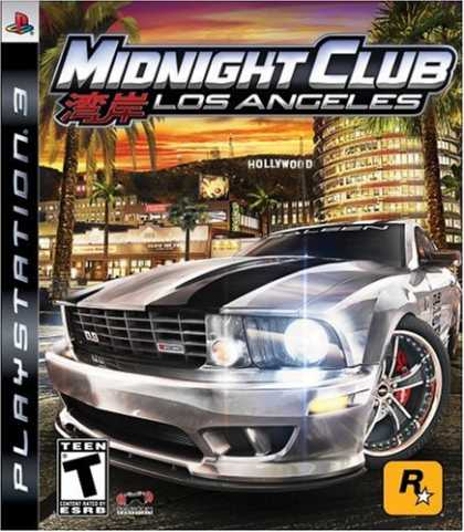 Bestselling Games (2008) - Midnight Club: Los Angeles