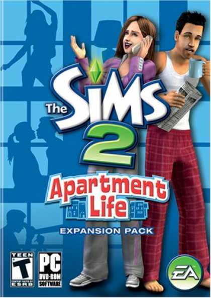 Bestselling Games (2008) - The Sims 2: Apartment Life