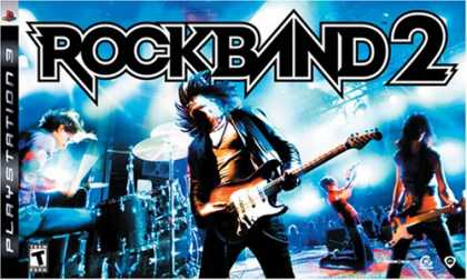 Bestselling Games (2008) - Playstation 3 Rock Band 2 Special Edition