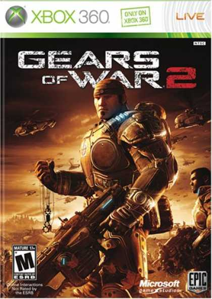 Bestselling Games (2008) - Gears of War 2