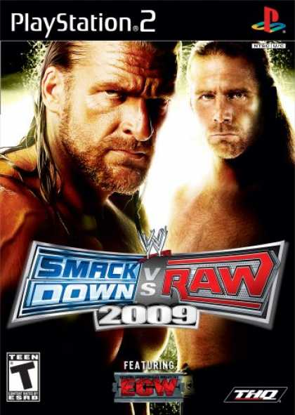 Bestselling Games (2008) - WWE Smackdown vs Raw 2009