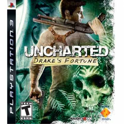 Bestselling Games (2008) - Uncharted: Drake's Fortune
