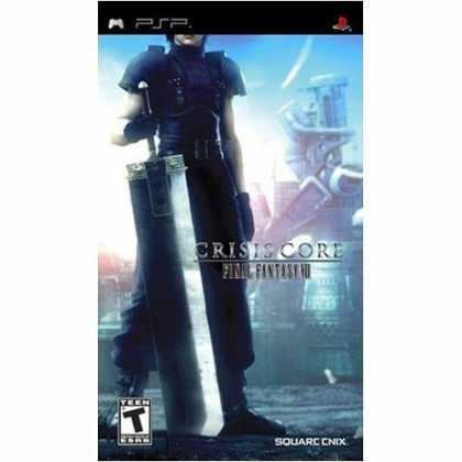 Bestselling Games (2008) - Crisis Core: Final Fantasy VII