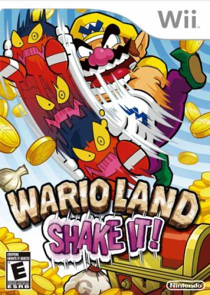 Bestselling Games (2008) - Wario Land: Shake It!