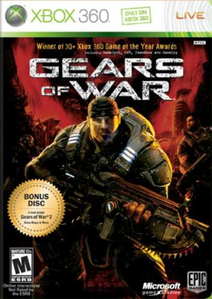 Bestselling Games (2008) - Gears of War (2-Disc Edition)