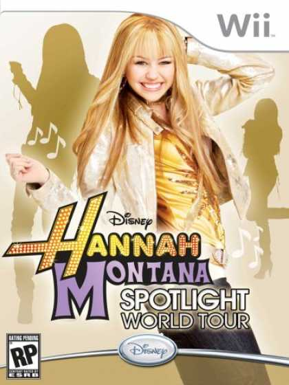 Bestselling Games (2008) - Hannah Montana: Spotlight World Tour