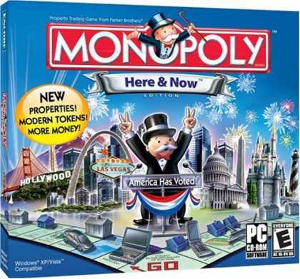 Bestselling Games (2008) - Monopoly Here & Now (Jewel Case)