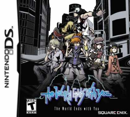 Bestselling Games (2008) - The World Ends With You