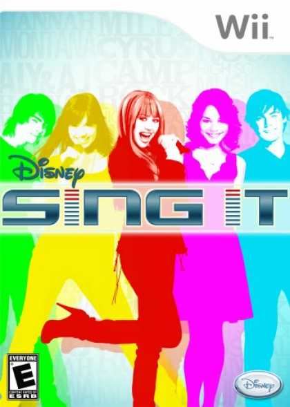 Bestselling Games (2008) - Disney Sing It