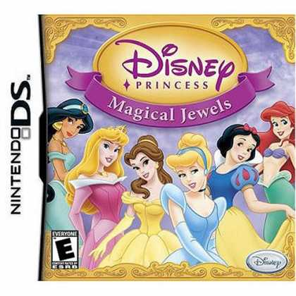 Bestselling Games (2008) - Disney Princess: Magical Jewels