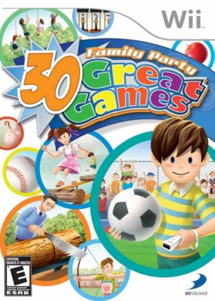 Bestselling Games (2008) - Family Party: 30 Great Games