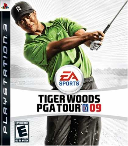 Bestselling Games (2008) - Tiger Woods PGA Tour 09
