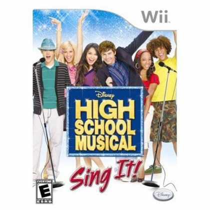 Bestselling Games (2008) - High School Musical: Sing It Bundle with Microphone
