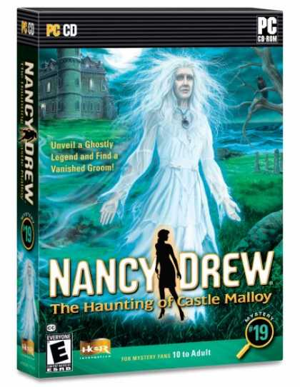 Bestselling Games (2008) - Nancy Drew: The Haunting of Castle Malloy