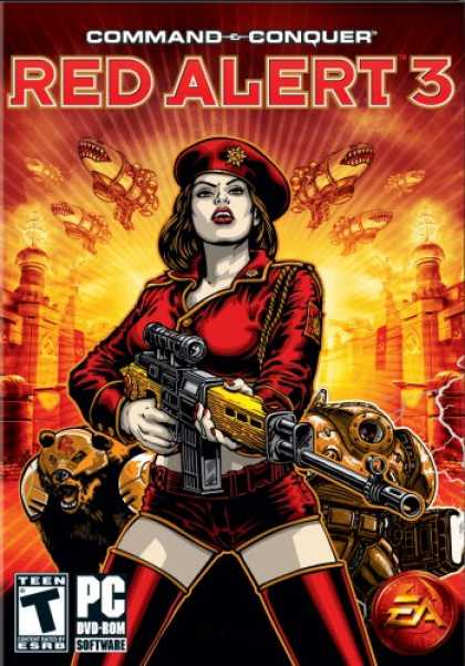 Bestselling Games (2008) - Command & Conquer: Red Alert 3