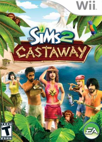 Bestselling Games (2008) - The Sims 2: Castaway
