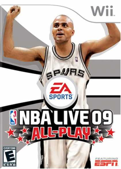 Bestselling Games (2008) - NBA Live 09 All-Play