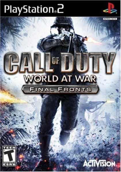 Bestselling Games (2008) - Call of Duty: World at War Final Fronts