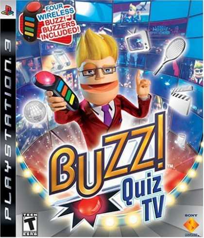 Bestselling Games (2008) - Buzz! Quiz TV Bundle