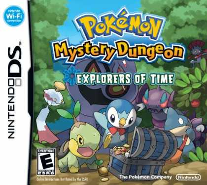 Bestselling Games (2008) - Pokemon Mystery Dungeon: Explorers of Time