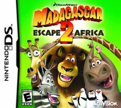Bestselling Games (2008) - Madagascar 2: Escape 2 Africa