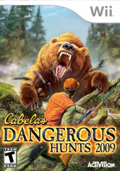 Bestselling Games (2008) - Cabela's Dangerous Hunts '09