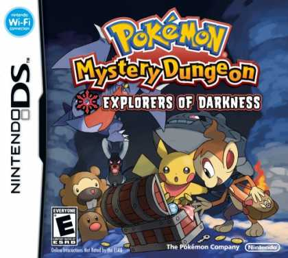 Bestselling Games (2008) - Pokemon Mystery Dungeon: Explorers of Darkness