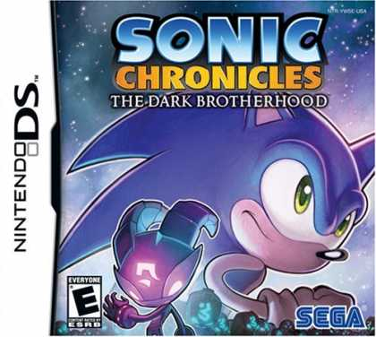 Bestselling Games (2008) - Sonic Chronicles: The Dark Brotherhood